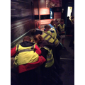 Inside the Jorvik Viking Centre.