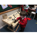 Designing and making using our woodwork bench