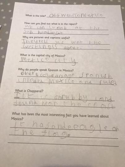 Seth's Fabulous Literacy Work