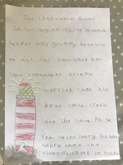 Seth has been describing the Lighthouse Keeper