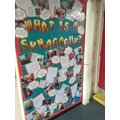 Our Synagogue Trip Display