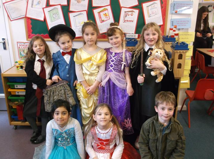 Book week dress up.