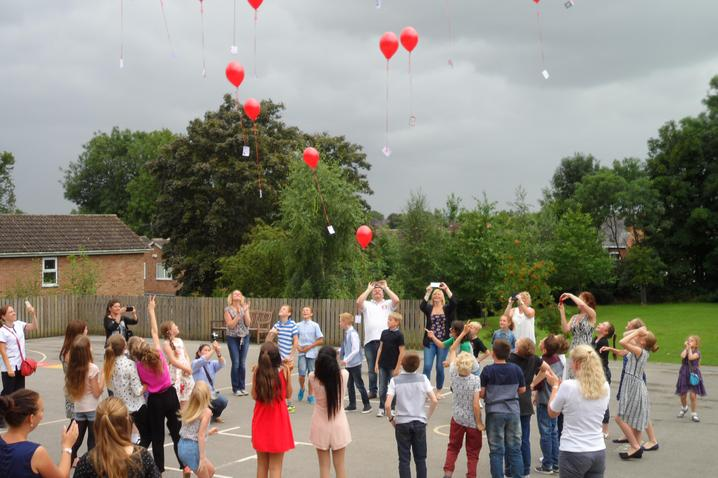 Year 6 Leavers' Mass and Balloon Release