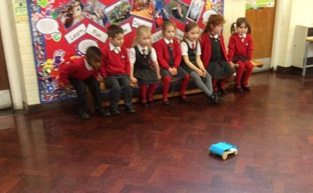 FS pupils watching as 'customers'