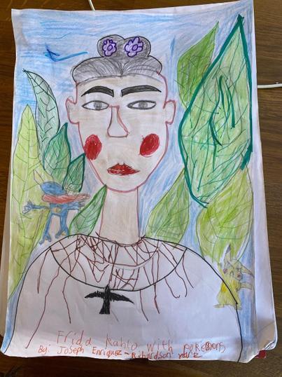Joseph's Portrait of Frida Kahlo