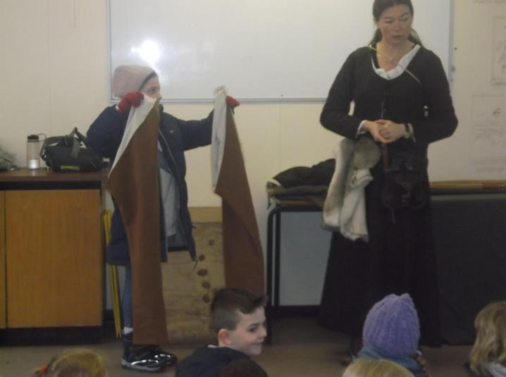 A pair of medieval trousers!