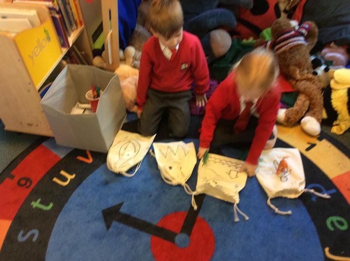 Deciding our story events.