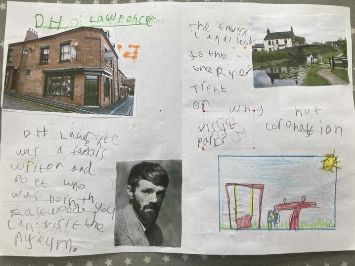 Myles's Leaflet about Eastwood
