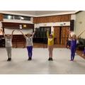 being part of a dance class