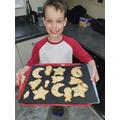 Alfie's baking