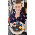 Chase' planet cake