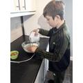 Oliver baking