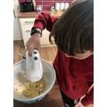 Archie baking