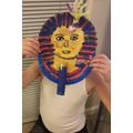 Oliver's death mask