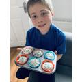 Bradley's cupcakes