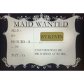 Kevin's Maid Advert