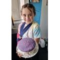 Freya's cake