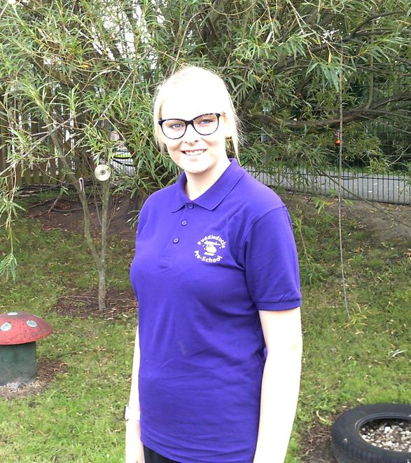 Chloe Vardy - Key person to purple group