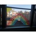 A heart rainbow.
