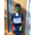Samprithi- Phonics Superhero!
