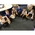 Musical fun learning about rhythm.