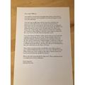 Lexi's letter