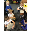 Musical fun learning about rhythm.