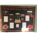 Our Remembrance Day dispaly