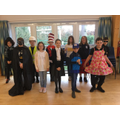 Class 3 dress up