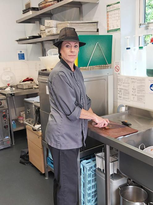 Mrs Porter - our Kitchen Manager