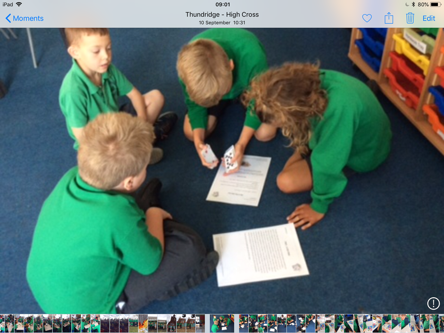 Working together to problem solve