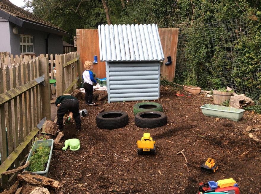 Our digging and exploration area