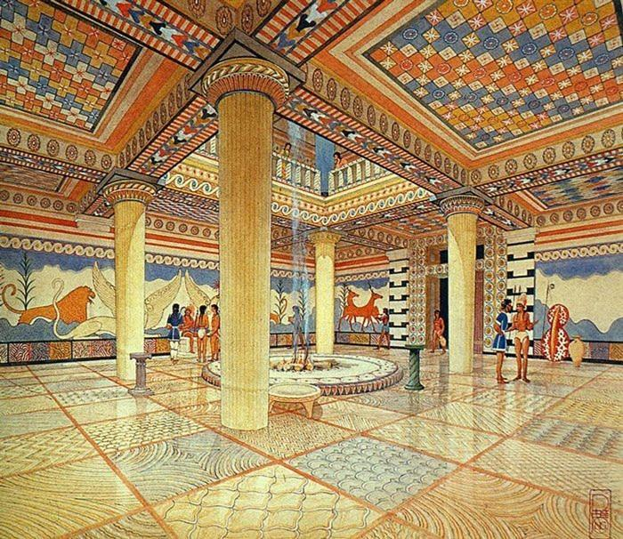 Would the palace have looked like this inside?