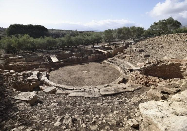 Could these be the remains of an ampitheatre?