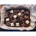 Archie's brownies