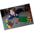 Thomas (1B) recreated Captain Sir Tom Moore's 100th lap using 100 pieces of Lego.