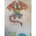 Sam's dragon!