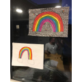Amelia's rainbow!