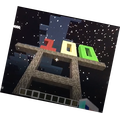 Bertie M (2V) made a video for Captain Tom using 100 Bricks & fireworks on Minecraft.