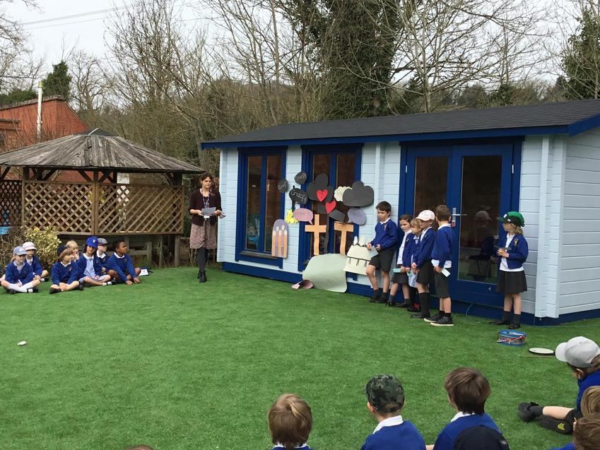 Otter class told us about Good Friday