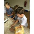 Making the Harvest bread