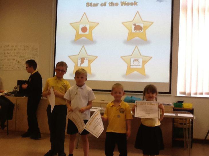 School stars of the week.