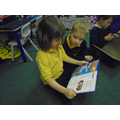 Working in pairs we looked at non-fiction books.