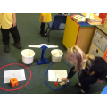 We tested other objects against George the teddy.