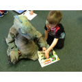 Our dinosaurs shared their story together.