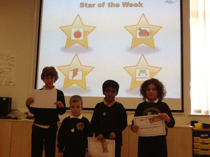 Stars of the week.