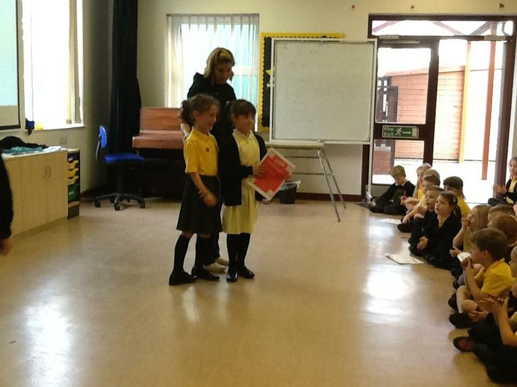 Act of kindness award for being a great friend.