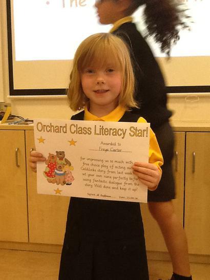 Literacy award!