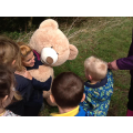 We were all good friends to Mr Bear!