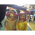 The giant glasses were great fun!